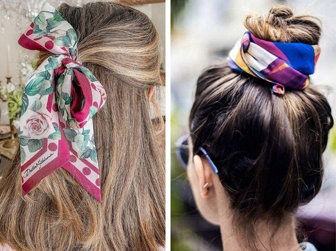 Как завязать узкий платок: стильные способы 9