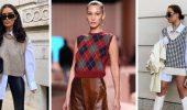 Модний трикотажний жилет в стилі препп: стильні поєднання на весну 2021