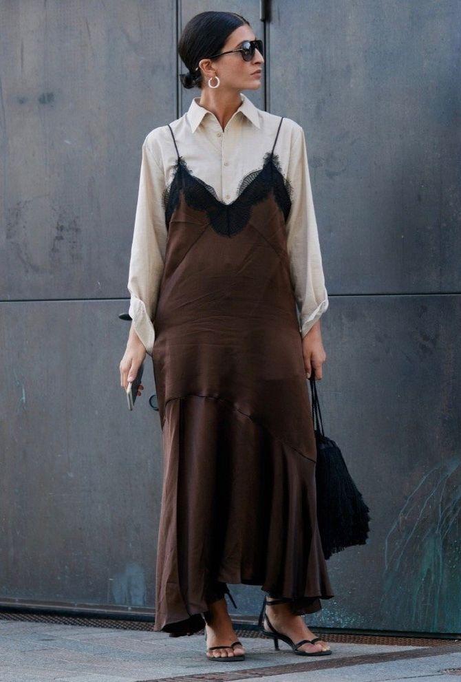 5 способов, как носить платье-комбинацию на любой случай 15