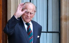 Помер чоловік Єлизавети II принц Філіп