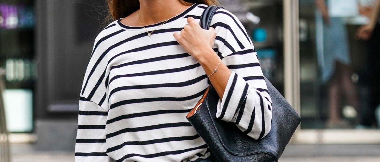 Как носить тельняшку: модные приемы на каждый день