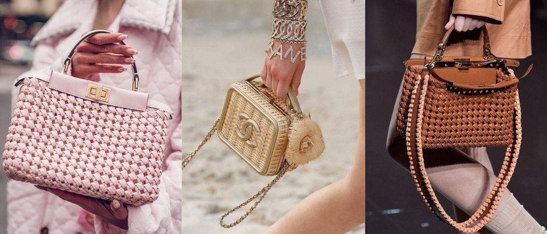 Плетеные сумки – новый тренд лета 2021
