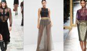 Модные способы носить прозрачные вещи и не выглядеть вульгарно