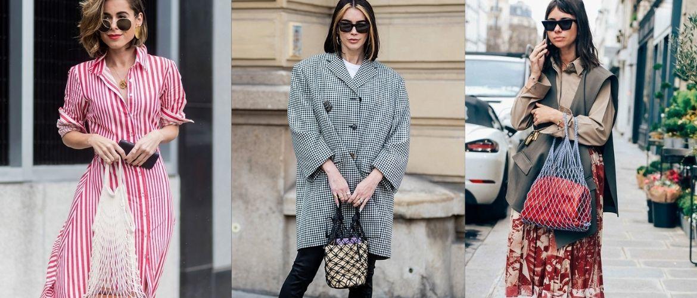 Авоськи и корзины – самые модные сумки лета 2021 года