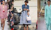 Клетка виши – как носить модный принт этого сезона