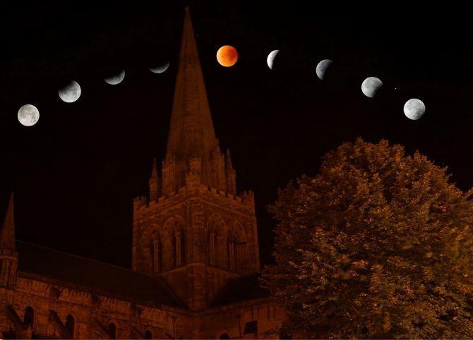Лунное затмение 26 мая 2021 года: Суперлуние и Кровавая Луна 1