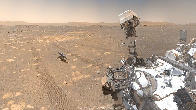 Марсоход Perseverance впервые в истории получил кислород с Марса 1
