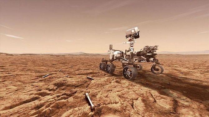 Марсоход Perseverance впервые в истории получил кислород с Марса 2