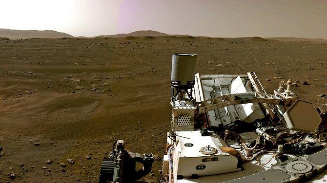 Марсоход Perseverance впервые в истории получил кислород с Марса 3