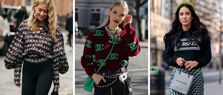Як носити вбрання з логотипами: кращі поєднання