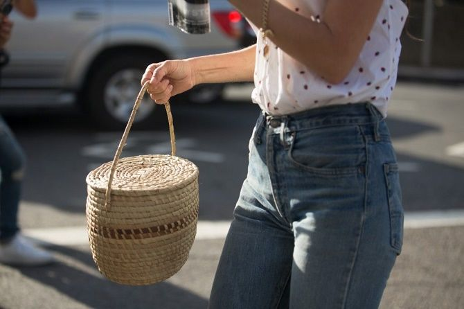 Авоськи и корзины – самые модные сумки лета 2021 года 14