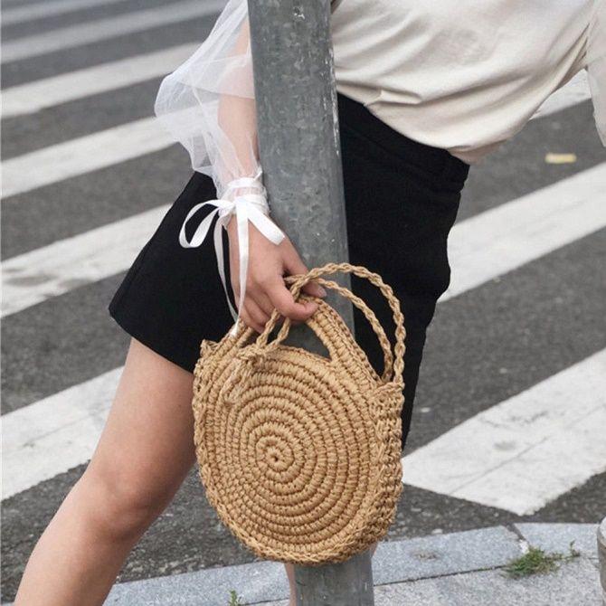 Авоськи и корзины – самые модные сумки лета 2021 года 18