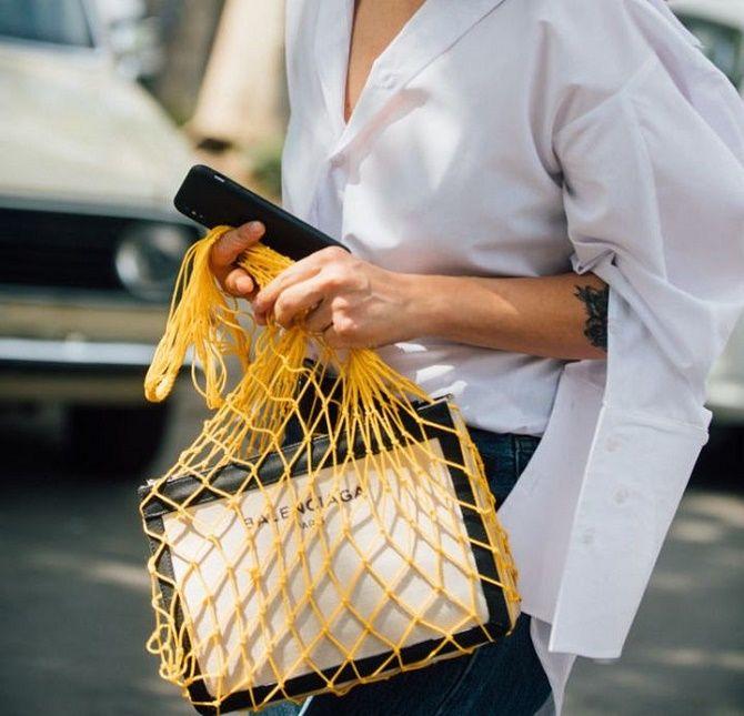 Авоськи и корзины – самые модные сумки лета 2021 года 7
