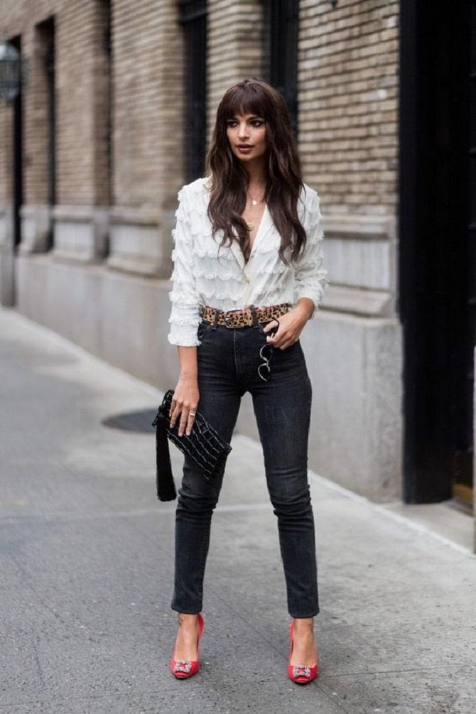 Біла блуза з воланами – найромантичніший тренд сезону весна-літо 2021 17