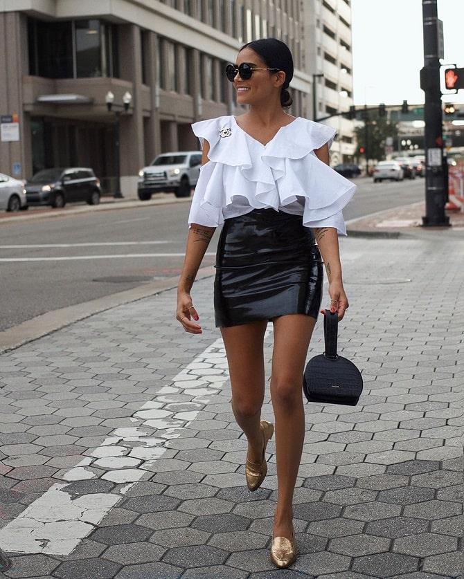 Біла блуза з воланами – найромантичніший тренд сезону весна-літо 2021 19