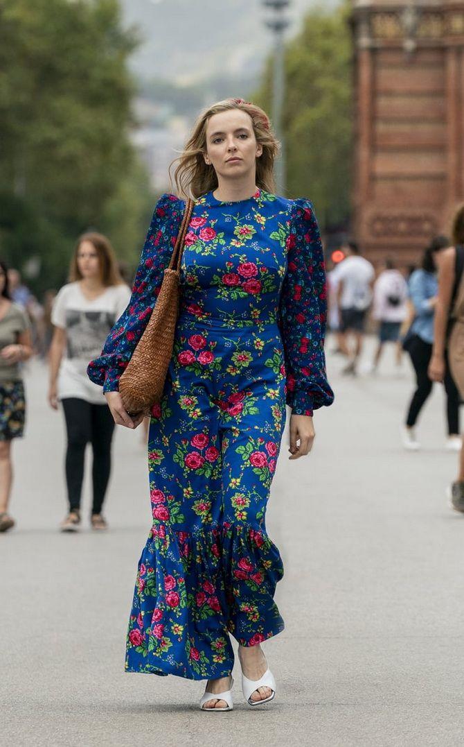 Модні сукні з квітковим принтом на весну 2021 17