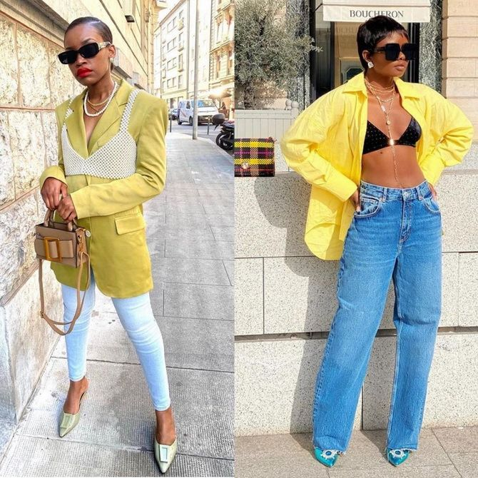 З чим носити бралет: модні ідеї з фото 12