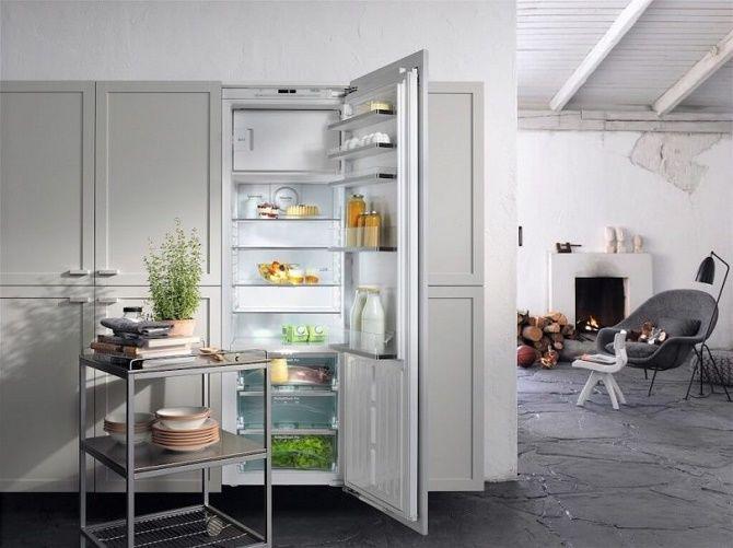 Обновляем кухню: как подобрать встраиваемый холодильник к интерьеру? 2
