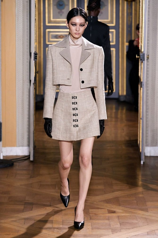 Як носити укорочений жакет в 2021 році – модні образи 14