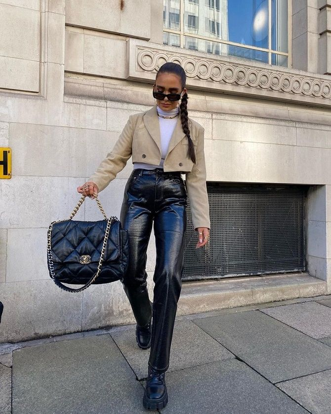 Як носити укорочений жакет в 2021 році – модні образи 9