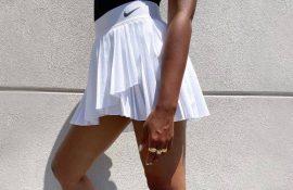 С чем носить теннисную юбку: стильные варианты и сочетания