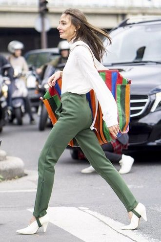 Леггинсы со штрипками: модный тренд весны и лета 2021 4