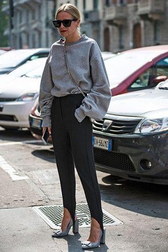 Леггинсы со штрипками: модный тренд весны и лета 2021 5