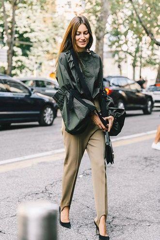 Леггинсы со штрипками: модный тренд весны и лета 2021 6