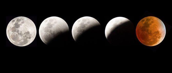 Лунное затмение 26 мая 2021 года: Суперлуние и Кровавая Луна 3
