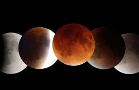 Лунное затмение 26 мая 2021 года и Суперлуние