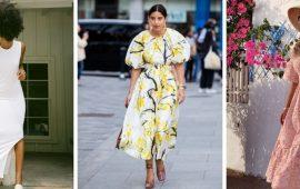 6 модных платьев на весну, которые необходимы в 2021 году