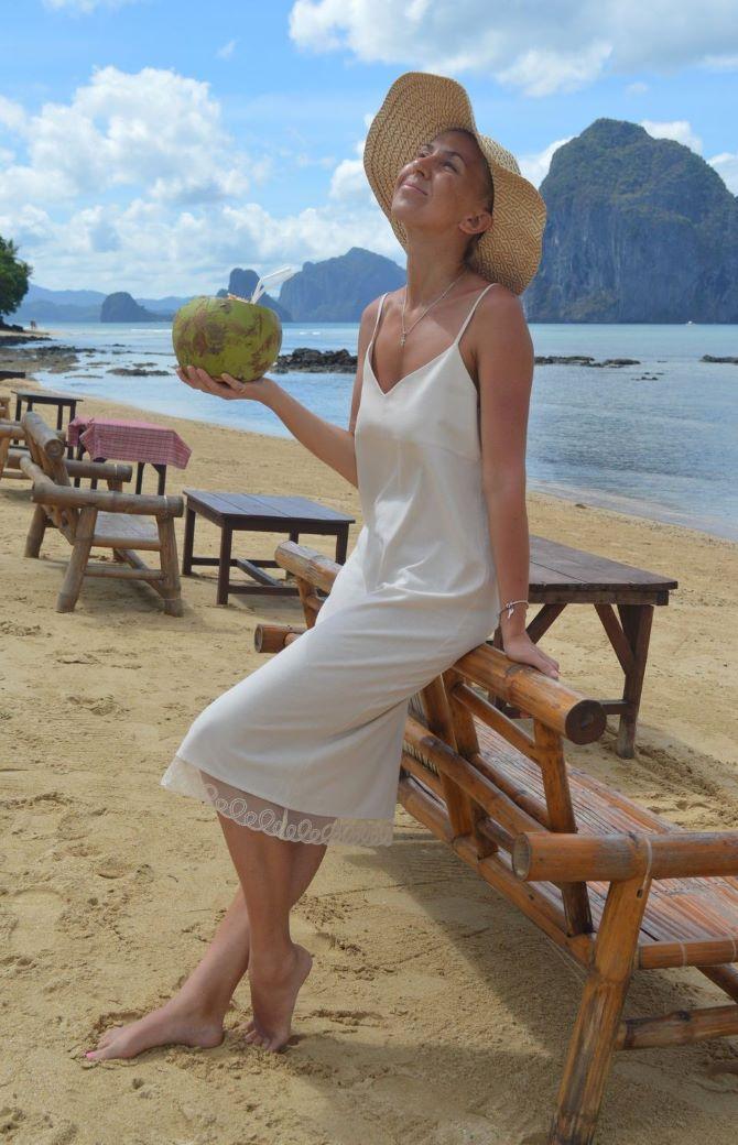 5 способов, как носить платье-комбинацию на любой случай 6
