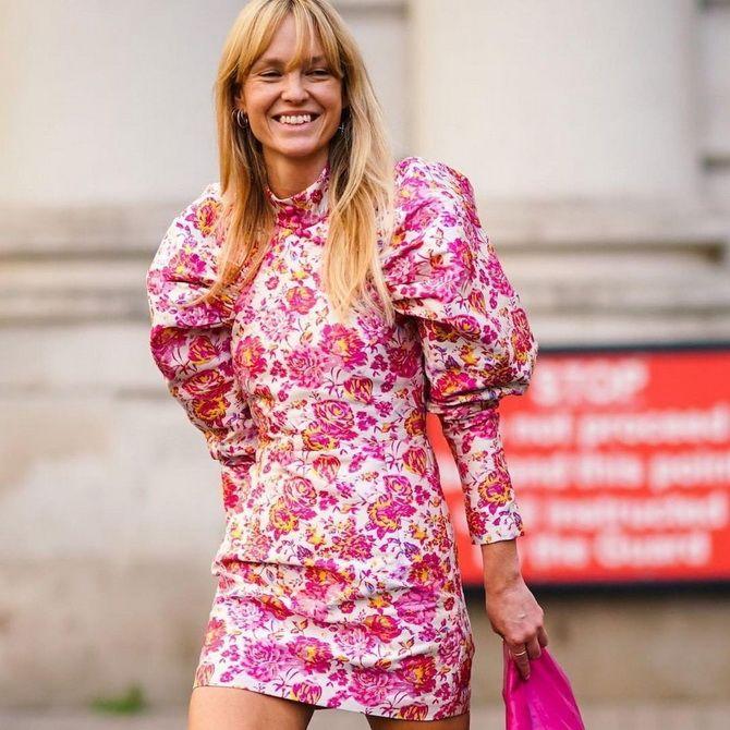 Модні сукні з квітковим принтом на весну 2021 9