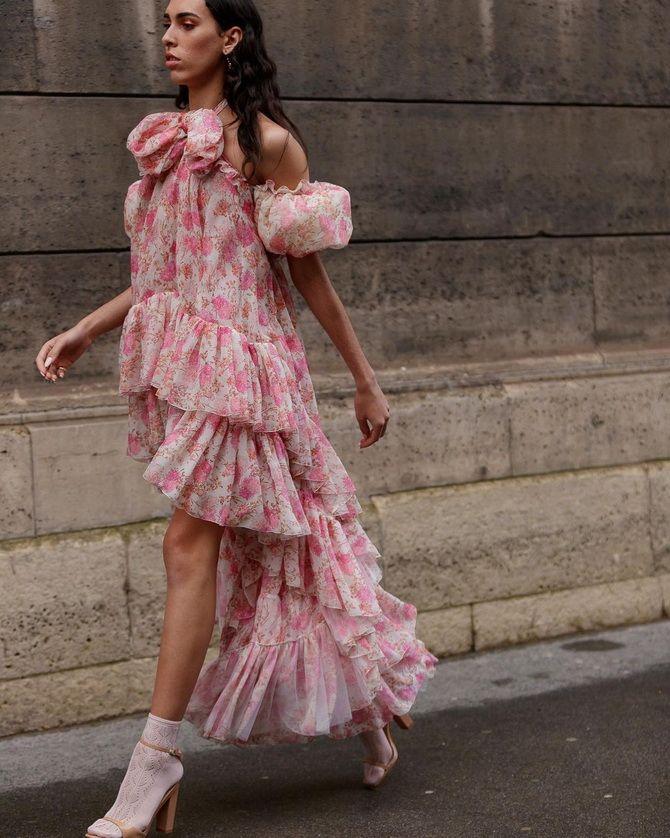 Модні сукні з квітковим принтом на весну 2021 25