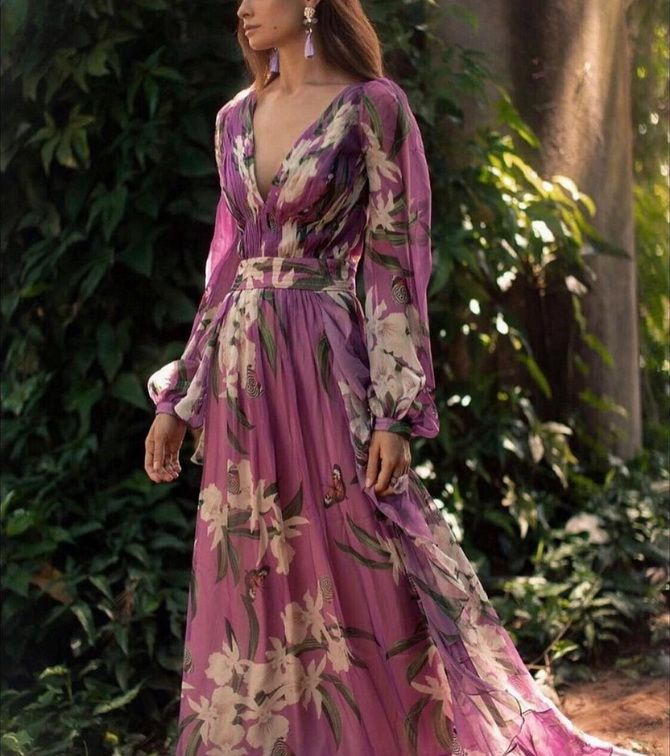 Модні сукні з квітковим принтом на весну 2021 7