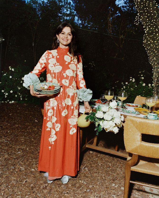 Модні сукні з квітковим принтом на весну 2021 6