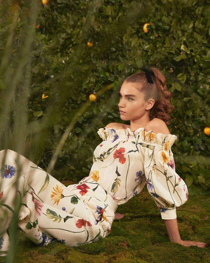 Модні сукні з квітковим принтом на весну 2021 8