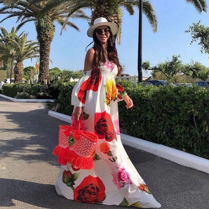 Модні сукні з квітковим принтом на весну 2021 10