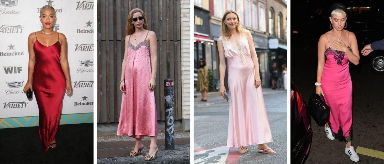 5 способов, как носить платье-комбинацию на любой случай