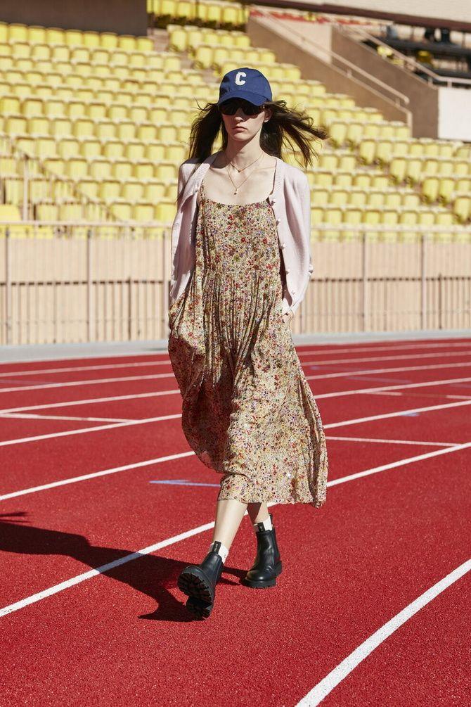 Модні сукні з квітковим принтом на весну 2021 2