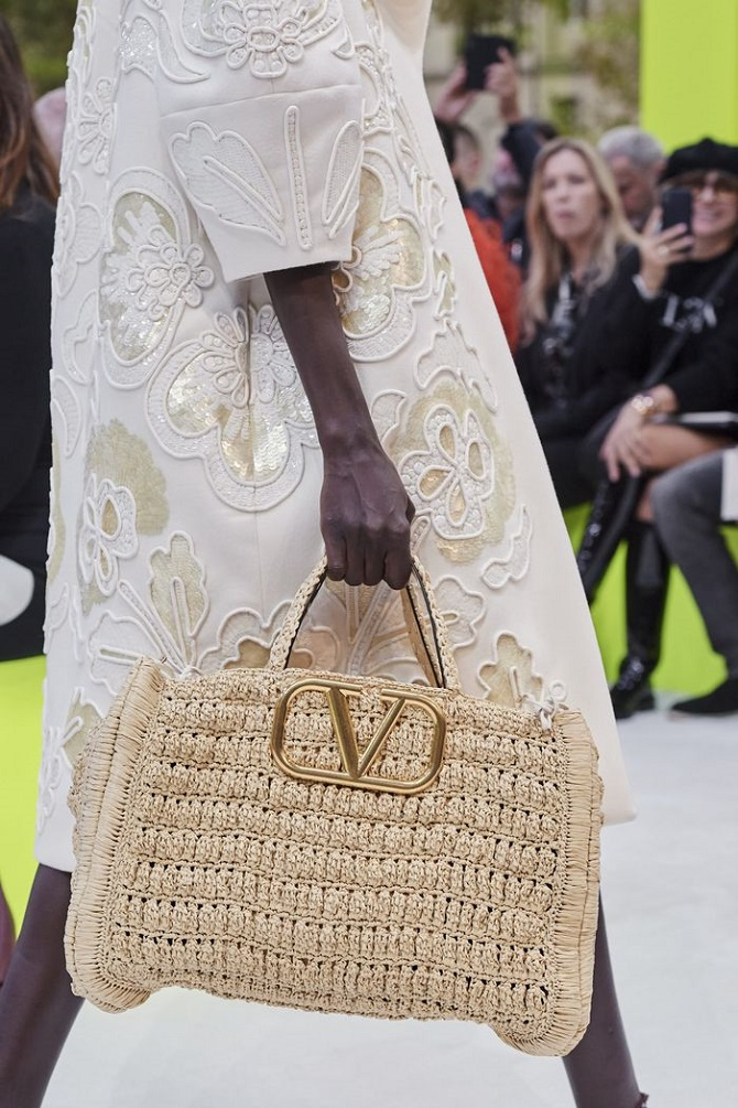 Плетеные сумки – новый тренд лета 2021 19