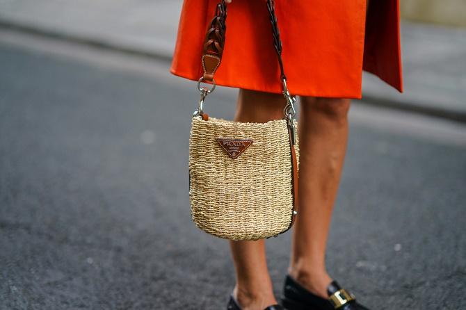 Плетеные сумки – новый тренд лета 2021 20
