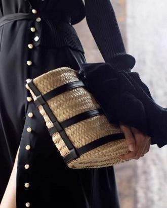 Плетеные сумки – новый тренд лета 2021 6