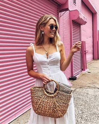 Плетеные сумки – новый тренд лета 2021 7