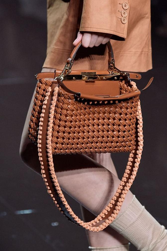 Плетеные сумки – новый тренд лета 2021 8