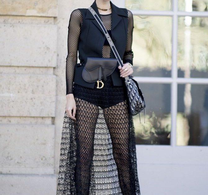 Модні способи носити прозорі речі і не виглядати вульгарно 11