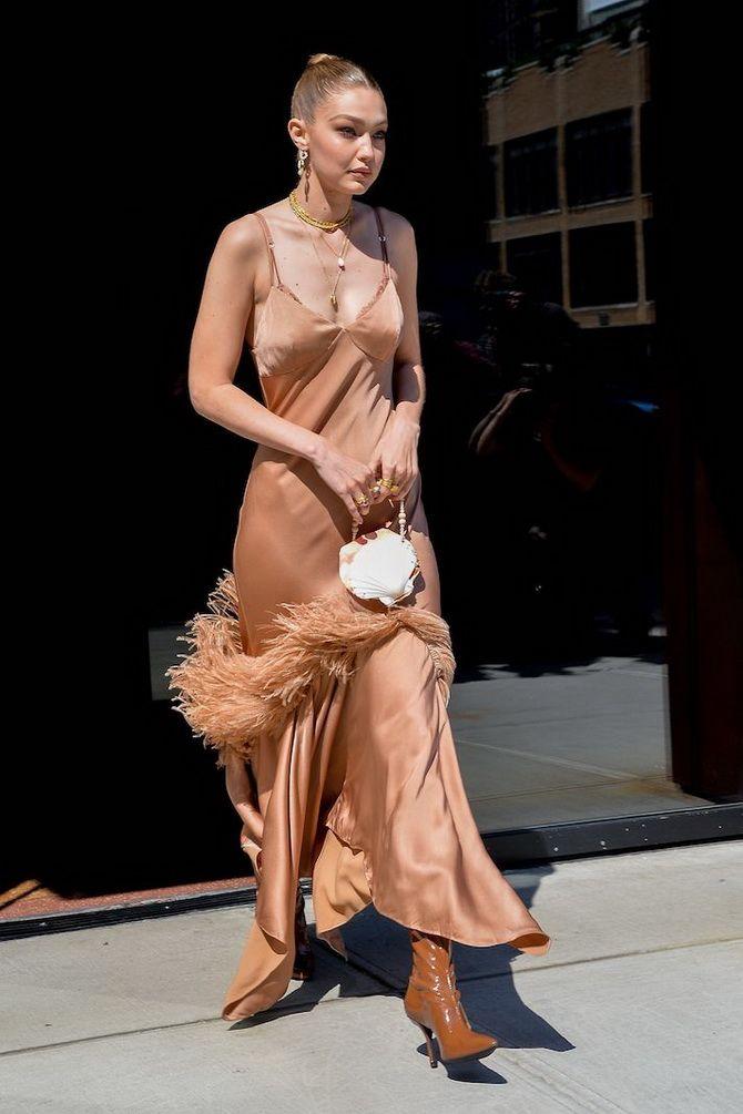 5 способов, как носить платье-комбинацию на любой случай 18