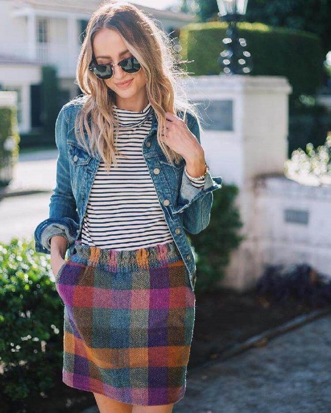 Как носить тельняшку: модные приемы на каждый день 17