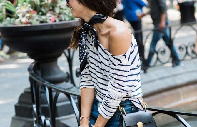 Как носить тельняшку: модные приемы на каждый день 3