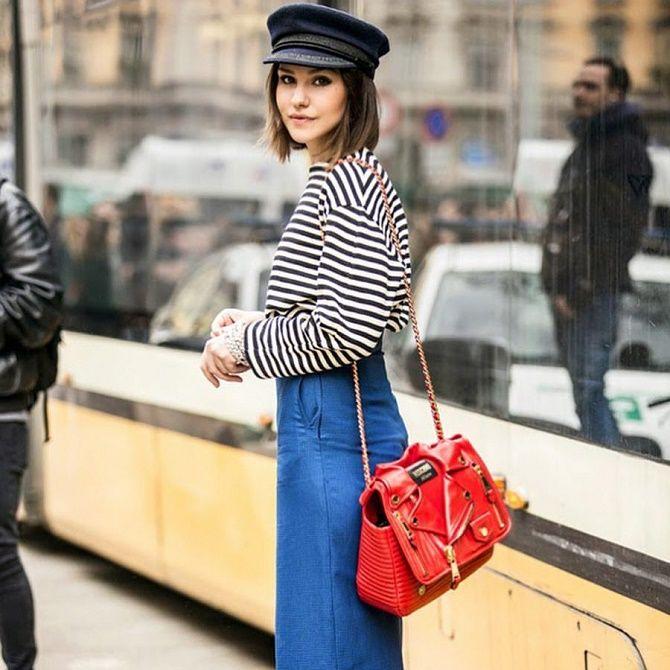 Как носить тельняшку: модные приемы на каждый день 7